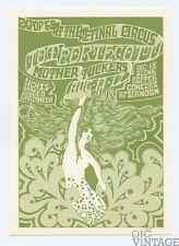Retinal Circus Postcard 1968 Aug 13 Tom Northcott Mother Tuckers