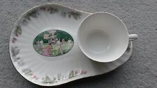 "Royal Doulton Tennis Set cup and saucer/tray"" On the Lawn"" Wimbledon Collection"