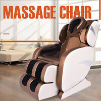 Electric Full Body Massage Chair Foot Roller Zero Gravity w/Heat & Leg Extension