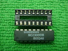 2pcs MCZ3001DB MCZ3001D MCZ3001 IC + 18 PIN SOCKET