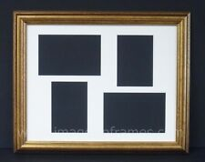 """CLASSIC GOLD 14""""x11"""" MULTI PICTURE AND PHOTO FRAME"""