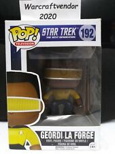 Funko Pop! Television Star Trek The Next Generation #192 Geordi La Forge Vaulted