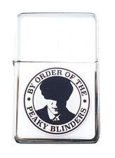 Lighter Peaky Blinders Star Silver Refillable Windproof Oil Petrol Flip Top