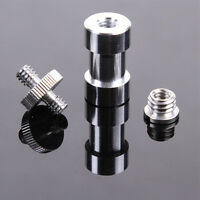 "6in1 1/4"" 3/8"" screw & 5/8"" Spigot Stud convert Adapter for Camera Tripod Stand"