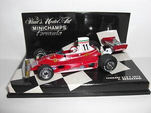 Minichamps Ferrari 312T Clay Regazzoni 1975 1/43