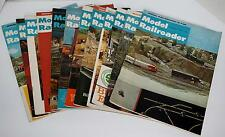 1967 Full Year Model Railroader Magazine Hobbyist Train Article Layouts Pictures