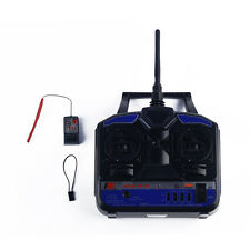 Durable 4CH 2.4GHz DC 12V Remote Transmitter w/ Receiver For RC Airplane FS-T48
