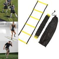Nylon Straps Agility Ladder Soccer Football Speed Training Stairs Equipment Kits