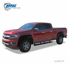 """BLACK PAINTABLE Extension Fender Flares 15-18 Colorado For 74.0"""" Fleetside Only"""