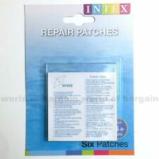INTEX CLEAR REPAIR PATCHES Inflatable Toys/Floats/Swimming Pool 1 pack- 6patches