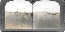 keystone stereoview des flettner rotor schiff im new yorker hafen c1926