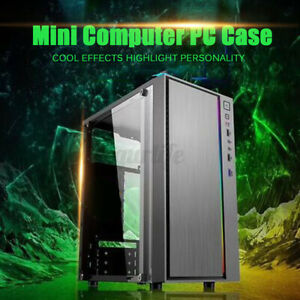 M-TX / Mini TX Computer Gaming PC Case RGB Cooling Fan USB udio Interface