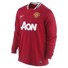 Maglie da calcio rosso Nike manica lunga