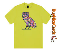 Drake's October's Very Own Celebration Owl Lime T-Shirt Size XXL Brand New