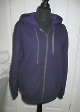 Gildan Ladies Purple Hoody Size Medium