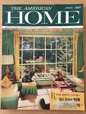 April 1957 The American Home Mid Century MCM