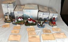 Lot of 5 Harbour Lights Lighthouses from Ca Mi Mib #417, #639, #191, #660 & #407