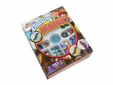 150 Grafix Traditional Glass Marbles Shooter Deluxe Set Kids Toy Game
