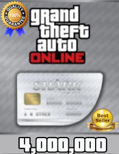 Grand Theft Auto Online Playstation 4: Megalodon Special Shark Cash - 4.000.000