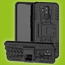 Für Huawei Mate 20 Lite Hybrid Case 2teilig Outdoor Schwarz Tasche Cover Hülle
