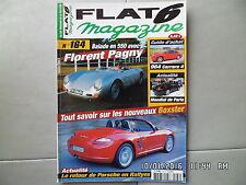 FLAT 6 N°164 10/2004 PORSCHE 550 avec Florent PAGNY Guide achat 964 Carrera 4J37