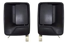 NEW Rear Outside Exterior Door Handles Set Black for 99-16 F250 F350 Super Duty