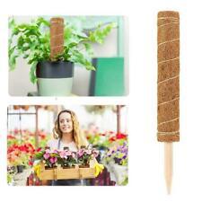 Extendable Moss Stick Coir Totem Pole Support Climbing Indoor Plants Creepers