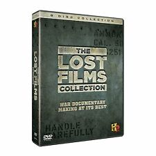 THE LOST FILMS COLLECTION NEW 8 DVDSET WAR DOCUMENTARY VIETNAM WWII D-DAY
