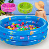 Inflatable 3 Ring Paddling Pool Children's Kid Swimming Pool Garden Outdoor Play