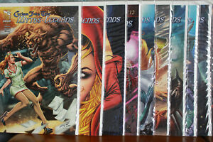 Grimm Fairy Tales Myths And Legends Issues 3 - 15 2011 Zenescope Comics