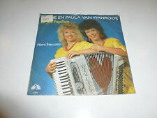 "ANNIE EN PAULA VAN WANROOIJ - Le Joli Papillon - 1985 Dutch 7"" Juke Box Single"