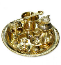Exclusive Puja Thali Set in Brass For Prayer