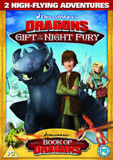 DREAMWORKS DRAGONS - GIFT OF THE NIGHT FURY - DVD - REGION 2 UK