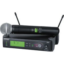 Shure SLX24/SM58 G5 Wireless Microphone