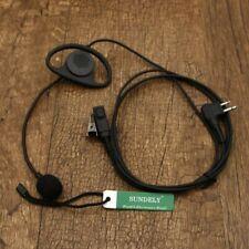 For Motorola Radio D-Shape Earpiece/Headset Boom Mic Vox/Ptt Xtn446 Xtn500 Cp040