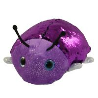 Adventure Planet Sequinimals Plush - LADYBUG (Sequin - Purple & Black) (10 inch)
