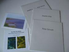 2005 One View Two Visions Urso Schroth - Leepa Rattner Museum of Art Program Set