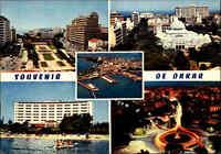 SENEGAL Postkarte Afrika Postcard DAKAR ~1970 Mehrbild-AK Souvenir Multi-View
