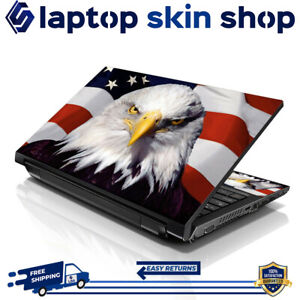 Laptop Skin Sticker Decal Protection Vinyl Film Wrap USA Eagle 13-16.5 Inch