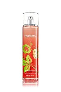 Bath & Body Works Fine Fragrance Mist Pearberry Perfume Spray 8 oz FULL Bottle