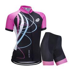 Frauen Bike Racing Bekleidung Outdoor Radtrikot und Shorts Set / Kits
