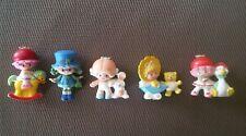 """Figurines """"CHARLOTTE AUX FRAISES"""" - Lot de 5 -Vintage"""