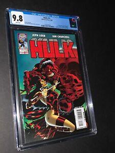 Hulk #15 CGC 9.8 1st Appearance Red-Hulk