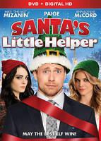 Santa's Little Helper DVD NEW SEALED Miz Mike Mizanin Paige WWE