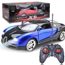 Kids Remoto RC Auto Giocattolo Regalo Bugatti Veyron + BATTERIA RICARICABILE AUTO