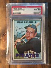 1967 Topps Jesse Gonder #301 PSA 8