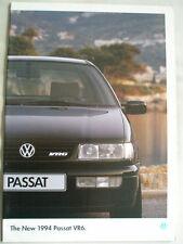 VW Passat VR6 range brochure 1994