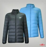 Girls Lee Cooper Full Zip High Neck Xlite Down Jacket Sizes from 7 to 13