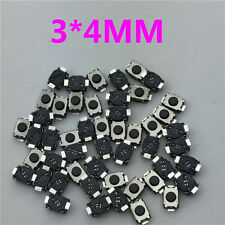 50pcs 3x4MM 2PIN G74 Tactile Tact Push Button Micro Switch Self-reset Momentary