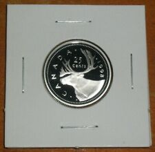 Canada 1998 Proof Quarter 25 Cent Sterling Silver Twenty-Five Cents